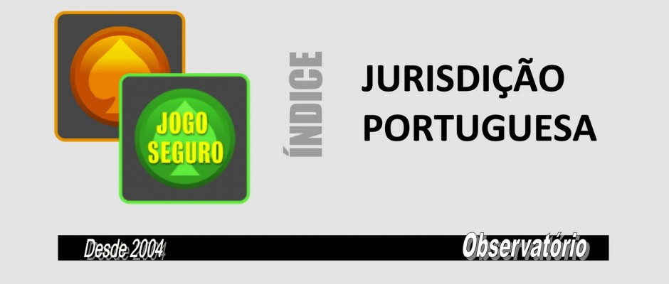 INDICE JURISDIÇÃO PORTUGUESA