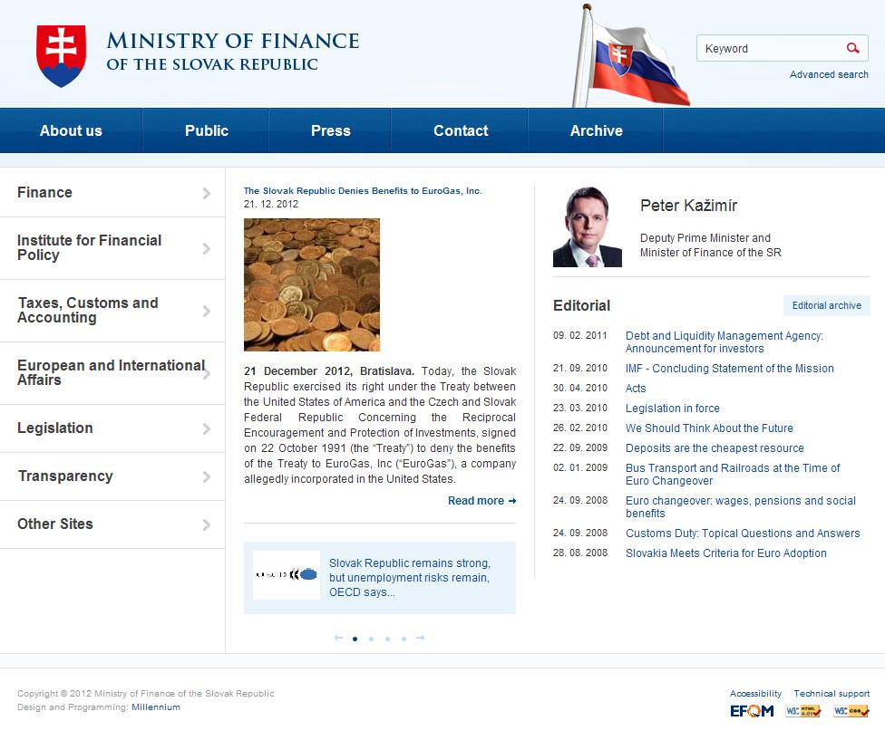 Finance Ministry of Slovakia