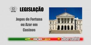Notícias - Jogos de Fortuna ou Azar em Casinos