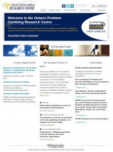 Ontario Problem Gambling Research Centre