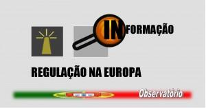 PALETE DE TRABALHO - REGULAÇÃO NA EUROPA