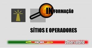 PALETE DE TRABALHO - SITIOS E OPERADORES