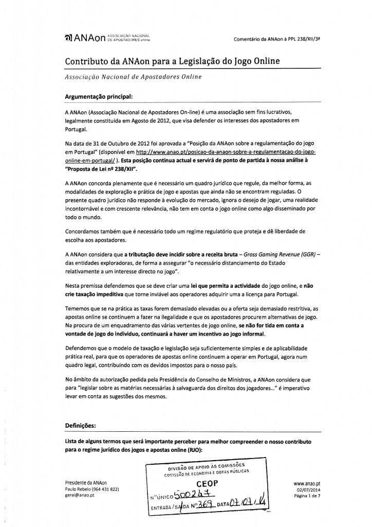 Parecer ANAon - Associação Nacional Apostadores online-1