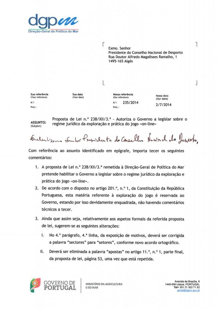 Parecer (CND)- Conselheiro João Fonseca Ribeiro-1