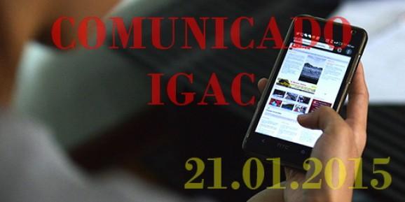 IGAC desmente iniciativa de bloqueio de site de jogos legais
