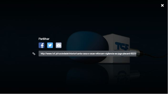 Santa Casa e ASAE reforçam vigilância ao jogo Placard TSF