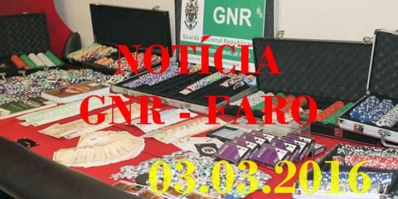 Parchal – Casino ilegal encerrado...