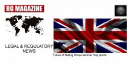 Future of Betting Shops seminar - Key points...