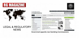 Government appoints new Gambling Commissioners...